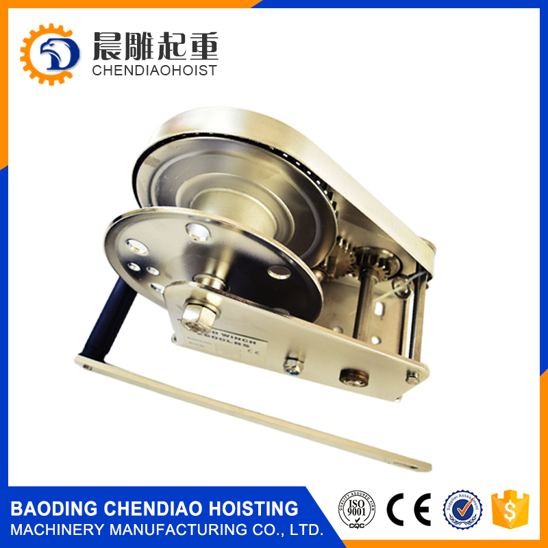 Portable small manual hand winch for anchor from chendiao