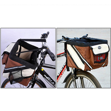 Foldable bike travel bag dog carrier for PET patterns