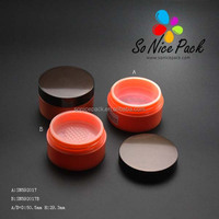 Round new powder sifter case