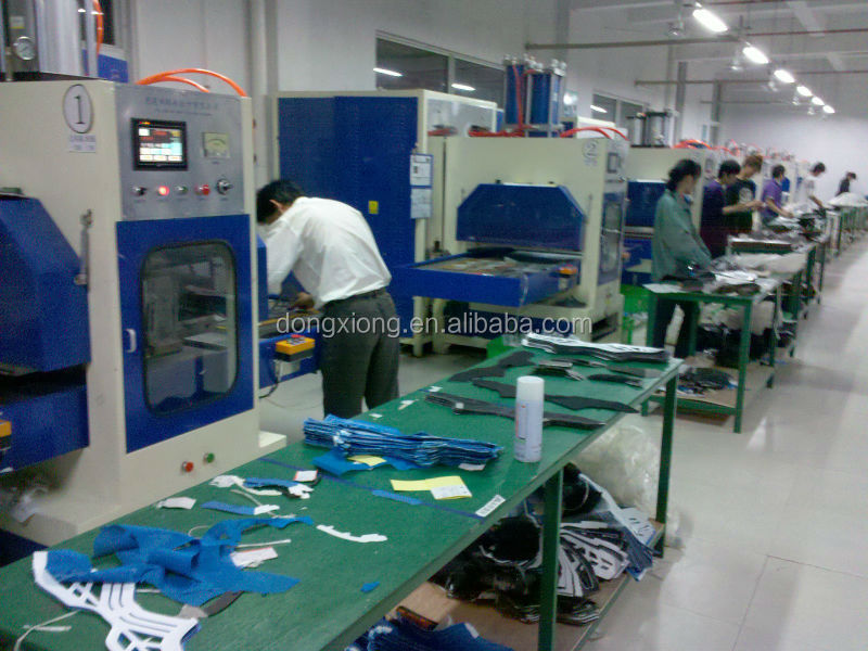 sports shoes making and embossing machine
