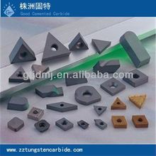 Tungsten carbide cutting inserts tools