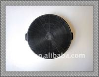 Kitchen or air range hood carbon filter