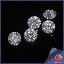lab grown moissanite loose diamond stone EF color forever brilliant round white moissanite