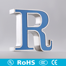 Indoor various custom material led letters letter for furniture request battery powered open signs led