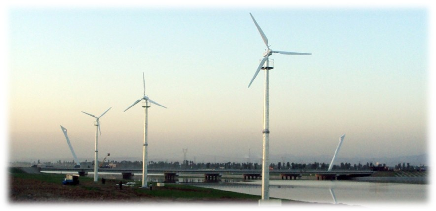 100kW compositive small wind generators turbine system for grid state projects
