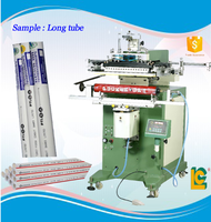 Long Tube Cylinder Screen Printing Machine for Baseball Bat,Pump,Battledore,long tube sticker, toy