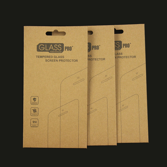 retail electronic prudcuts tempered glass packaging