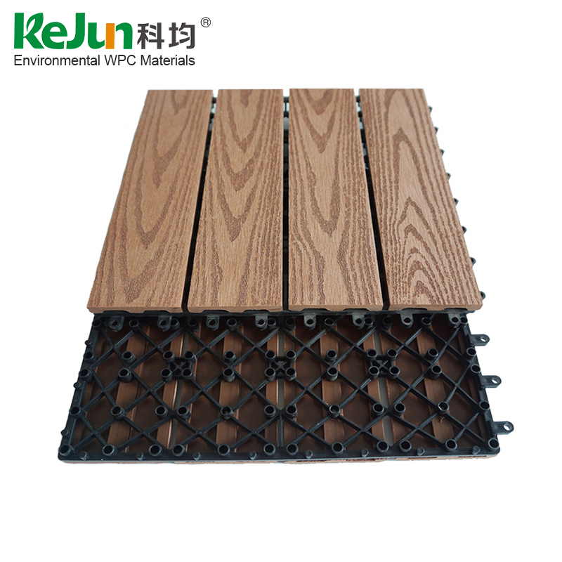 Newest Insect Prevention WPC Diy Composite Decking Tile