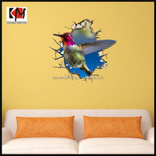 High quality latest art design 3d wall sticker vinyl
