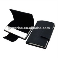 leather business card case/card holder/card box