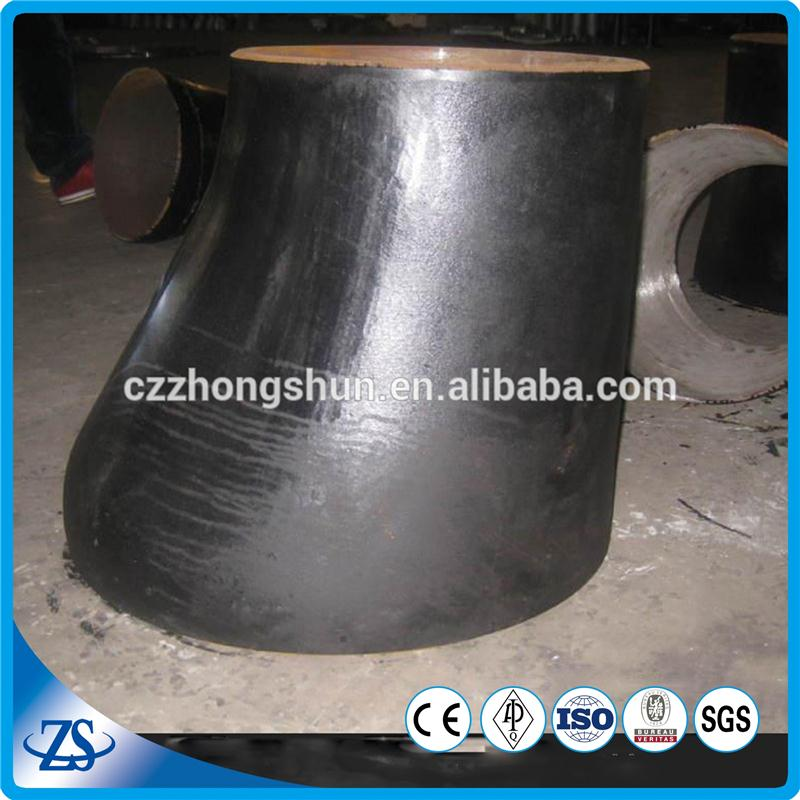 wall thickness black painting carbon steel asme ecc reducer with api 5l elbow