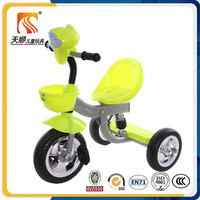 Factory directly wholesale kids pedal tricycle with EVA wheels