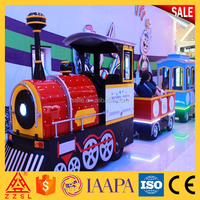 2017 most popular outdoor train backyard amusement kiddie rides for sale