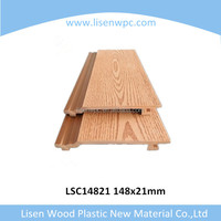 wood plastic composite wall panels for decoration