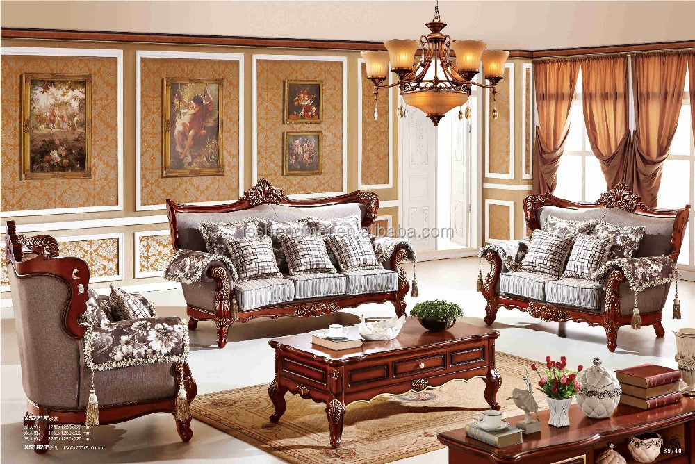 2015 new classic sofa set dubai fabric sofa furniture Living room furniture for sale in dubai