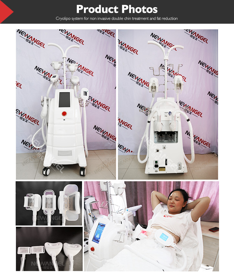 CE Approved Lipofreeze vacuum criolipolisys machine freeze fat double chin removal