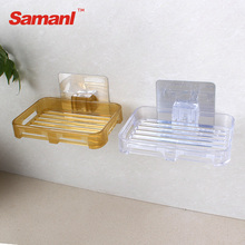 Cheap Plastic Corner Soap Dishes Wall Stick Soap Dish Holder For Showers