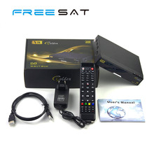 Freesat V8 Golden IPTV Satellite Receiver DVB-S2/T2/C Combo Set Top Box with Smart Card