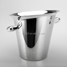 4L Stainless Steel Wine Chiller Silver Champagne Ice Bucket