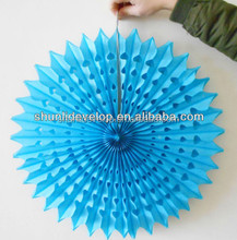 Wedding decoration items Decorate your own wall hanging paper fan