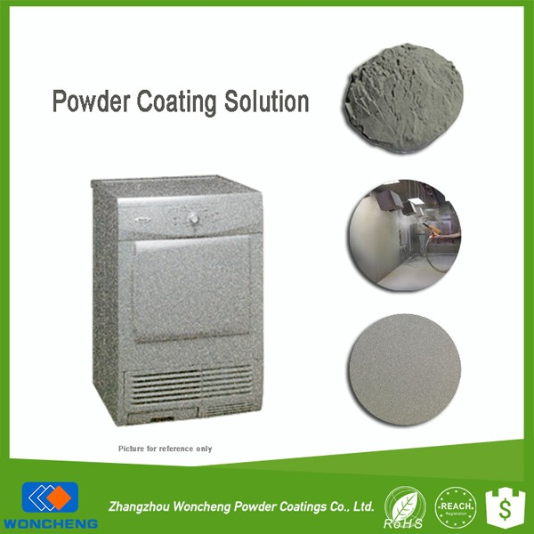 Shining Silver Color Metallic Primer Powder Coating Interior Paint