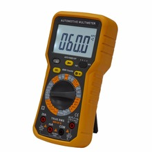 low price CE standard digital lcd display multimeter AC DC with frequency test from china