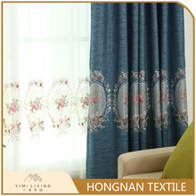 Modern design custom made fancy luxury blackout curtains