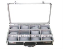 aluminum acrylic golf ball display case