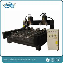 multi-function 8 heads rotary cnc router machine