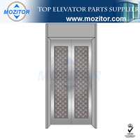 China lift door panels gold supplier|popular evator parts