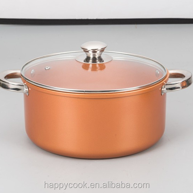 new cookware bronze ceramic coating with stainless steel handle gig casserole