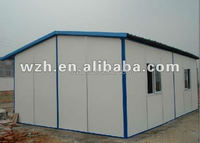steel prefabricated home /sandwich panel house /apartments for sale in spain from China supplier WZH