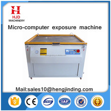 pcb uv exposure machine for screen printing with max exposure 700x1000mm