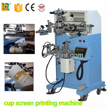 Dongguan cylinder semi auto silk screen printing machinery for sale