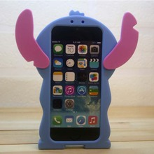Cute shape supreme 3D Animal Phone Case For iphone custom silicone phone case