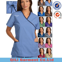 Custom hospital uniform clinical medical scrubs uniforms