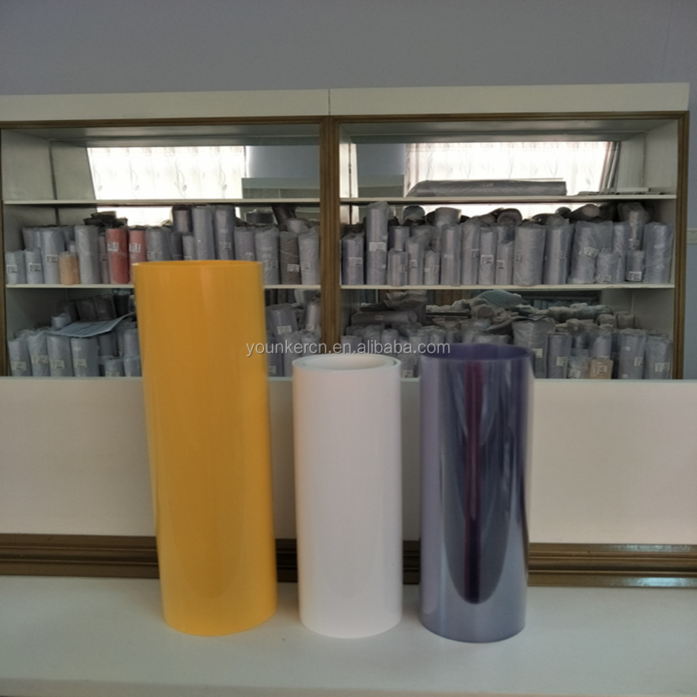 Clear And Transparent Color Pvc Plastic Film in Roll For Pharma Blister Pack
