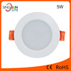 Aluminium recessed smd downlight led 5w led downlight for home
