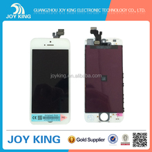 Factory cheap useful new wholesale lcd with digitizer assembly for iphone 5