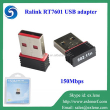 Wireless network cards wifi direct nano usb adapter 150M Ralink RT7601 raspberry pi 2