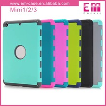 2in1Double Colors Robot Shockproof PC Case For iPad Mini