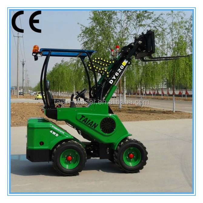 Chin Loader Compact Wheel Loader DY620 Log Loader For Sale