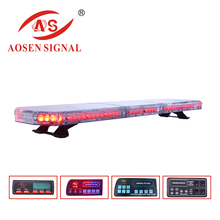 HOT Police led roof light bar 82w double side car strobe light bar mini flashing police led warning emergency light