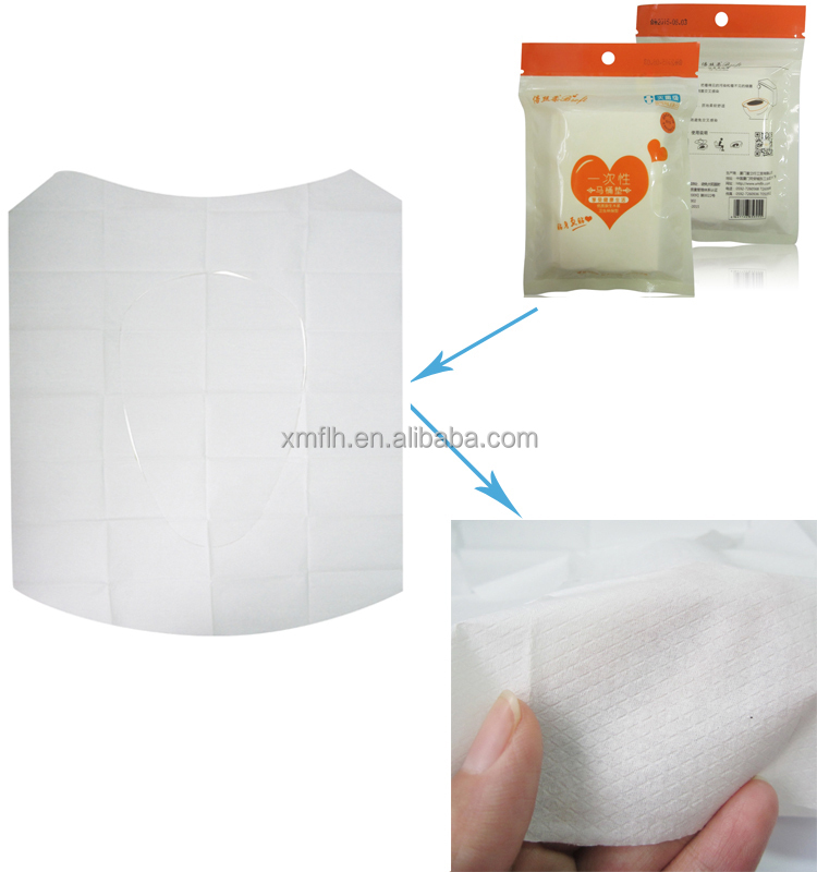 Hotel Sanitary Disposable Tissue Paper Toilet Seat Covers Donald John Trump