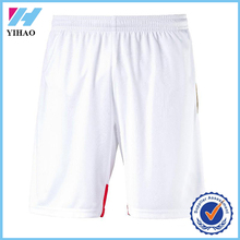 Yihao 2015 Custom 100% Polyester Basketball Shorts in Mesh Fabric/Mens Sports Shorts/Cheap Mesh Football Shorts