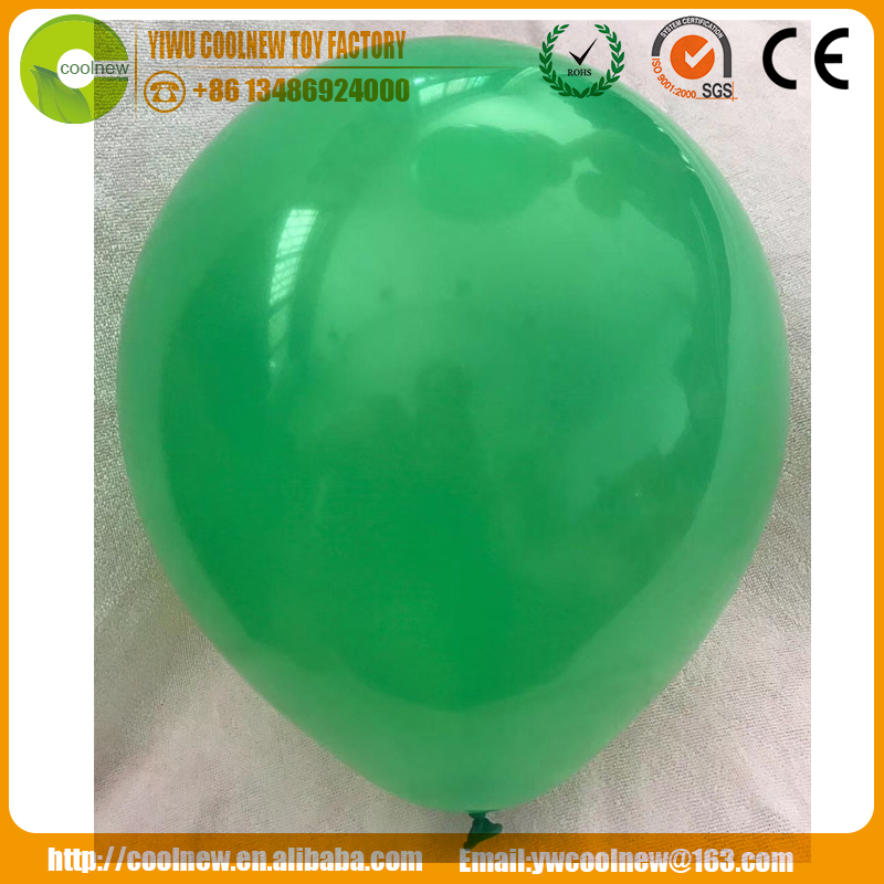 factory Cheap price inflatable 12 inch 2.8g pearl color rubber balloons for toys