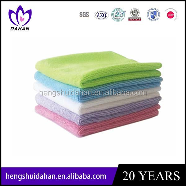 microfiber cleaning cloth& towel
