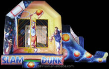 Inflatable Slam Dunk Deluxe