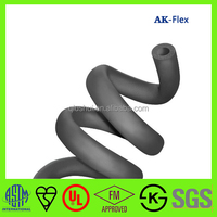 AK-Flex excellent fire resistance performance flexible pipe insulation rubber foam