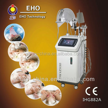 ozone therapy machines IHG882A Multi-Function Oxygen Facial equipment for spa 2013(Magic Hand/CE)